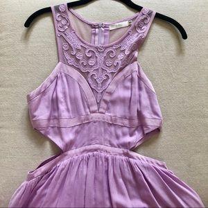 Millou LF Lilac Purple Lace Dress